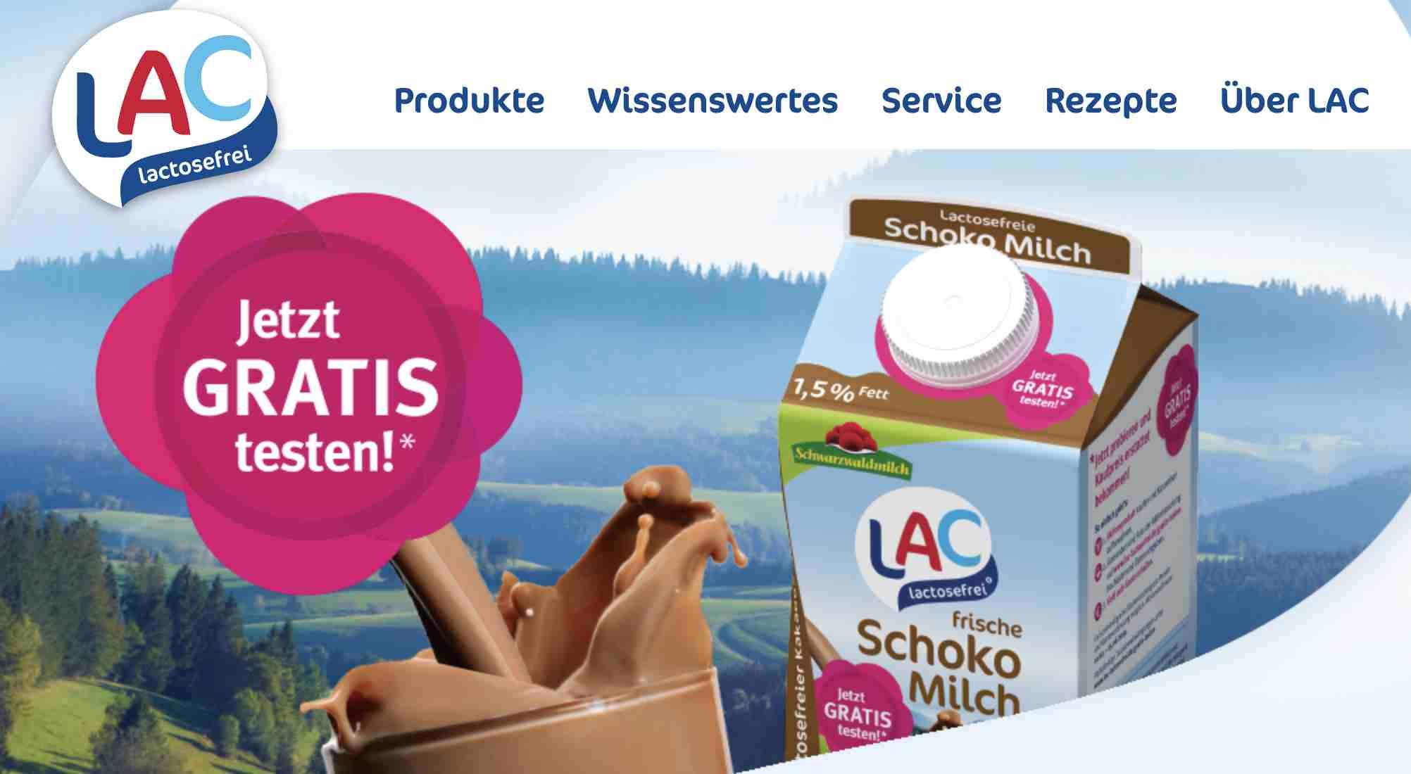 Laktosefreie Schokomilch Kostenlos Testen Alle Gratisproben