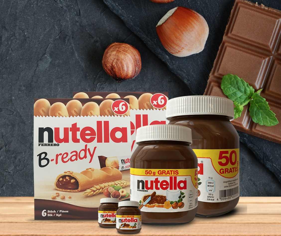 Nutella-gratisproben