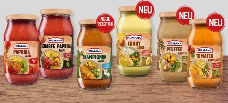 Homann-Kochsaucen
