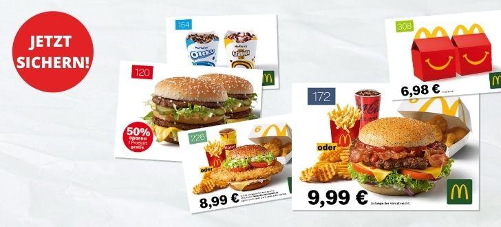 McDonalds-Gutscheine